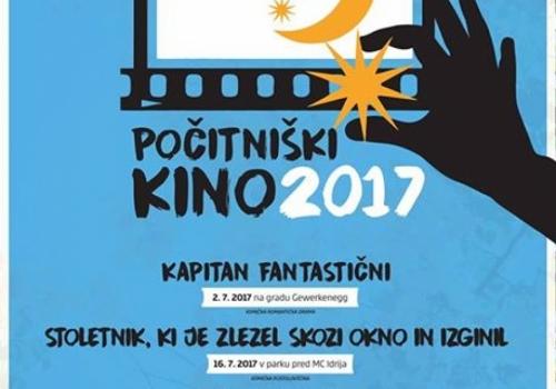 Počitniški kino 2017
