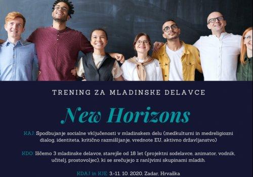 New Horizons - trening v Zadru