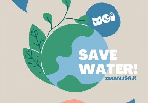 Zmanjšaj! porabo pitne vode!