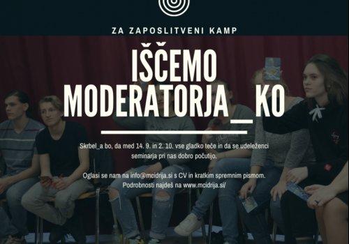 Iščemo moderatorja_ko
