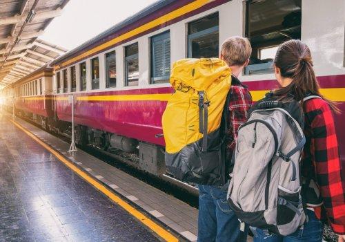 Z vlakom in s prijatelji po Alpah