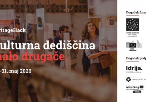 Idrija 2020 organizira HeritageHack
