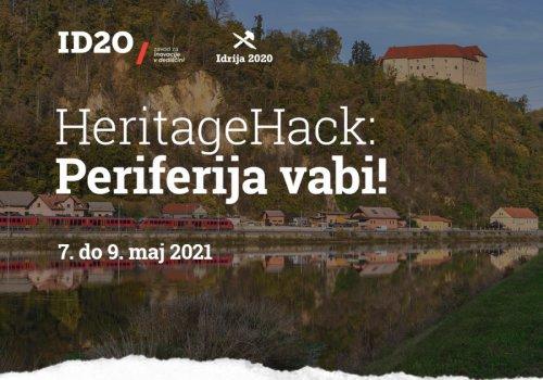 Heritagehack - hackaton za iskanje rešitev na slovenskem podeželju in v manjših mestih