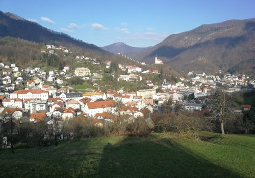 Living in Idrija by Tomaž Vencelj