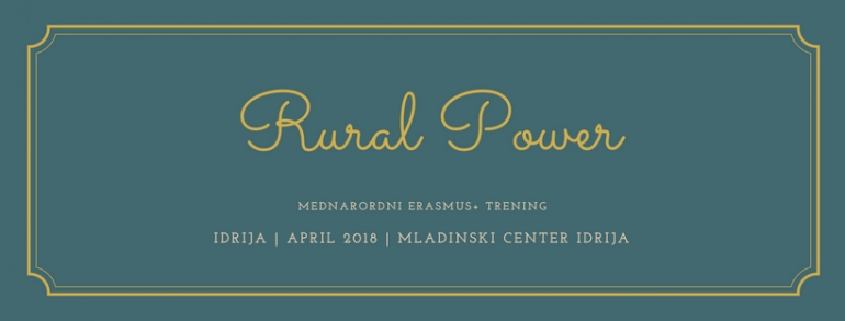 Spomini na trening Rural Power